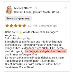5 Sterne von Nicole