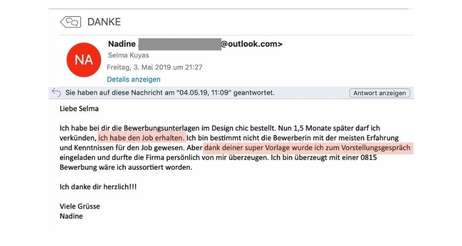 CV Vorlage Woweffekt