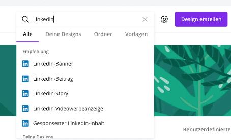 Canva LinkedIn Banner