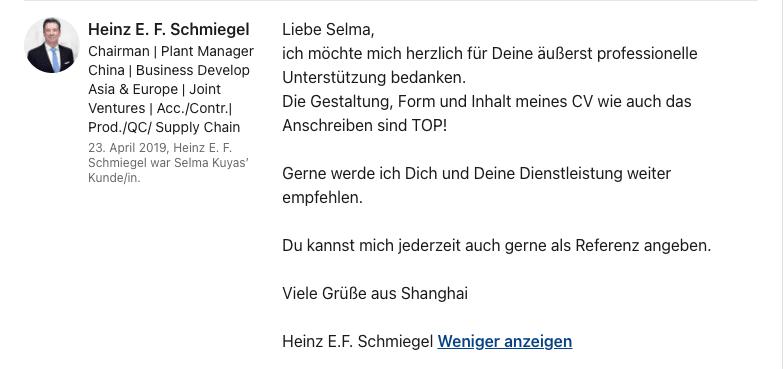 Empfehlung ALban
