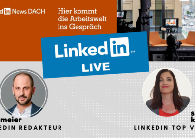 Linkedin Live – News Redaktion DACH