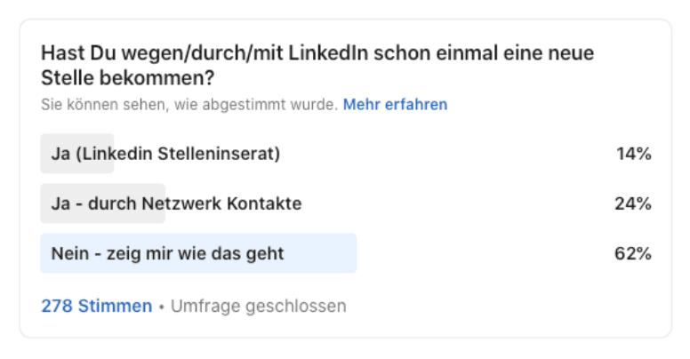 Mit Linkedin zum Traumjob