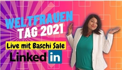 Linkedin Live zum Weltfrauentag 2021